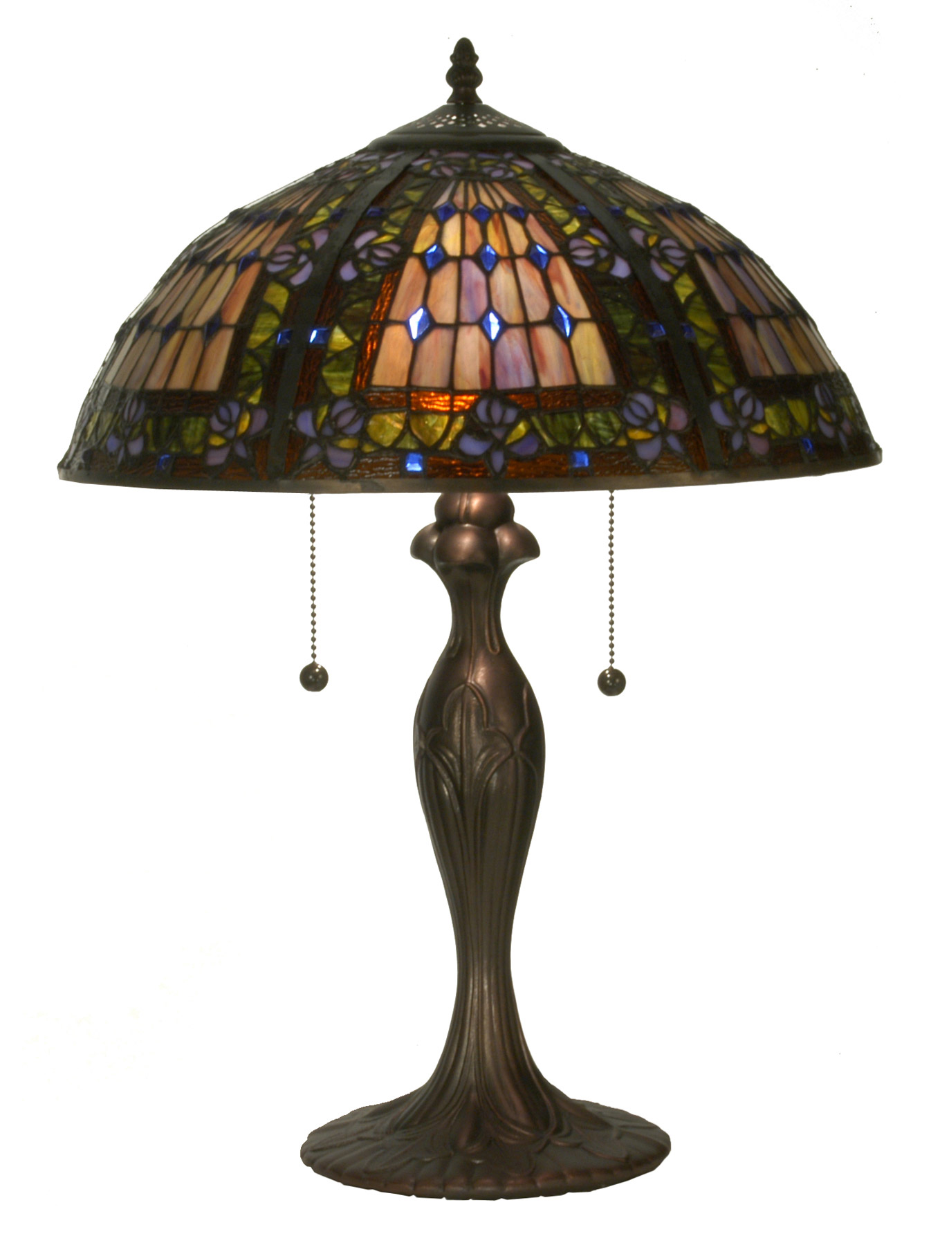 Meyda 81447 tiffany fleur de lis table lamps aloadofball Choice Image