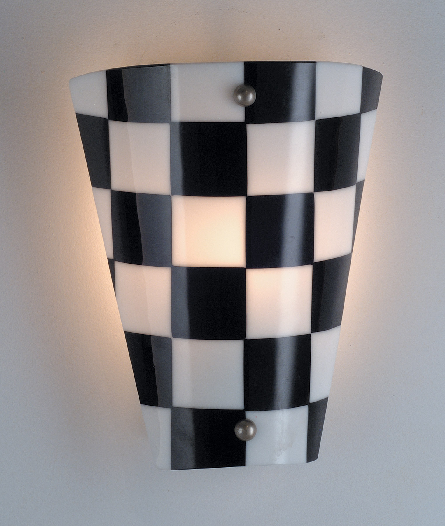 Meyda 82473 Brother Mario Fused Glass Wall Sconce