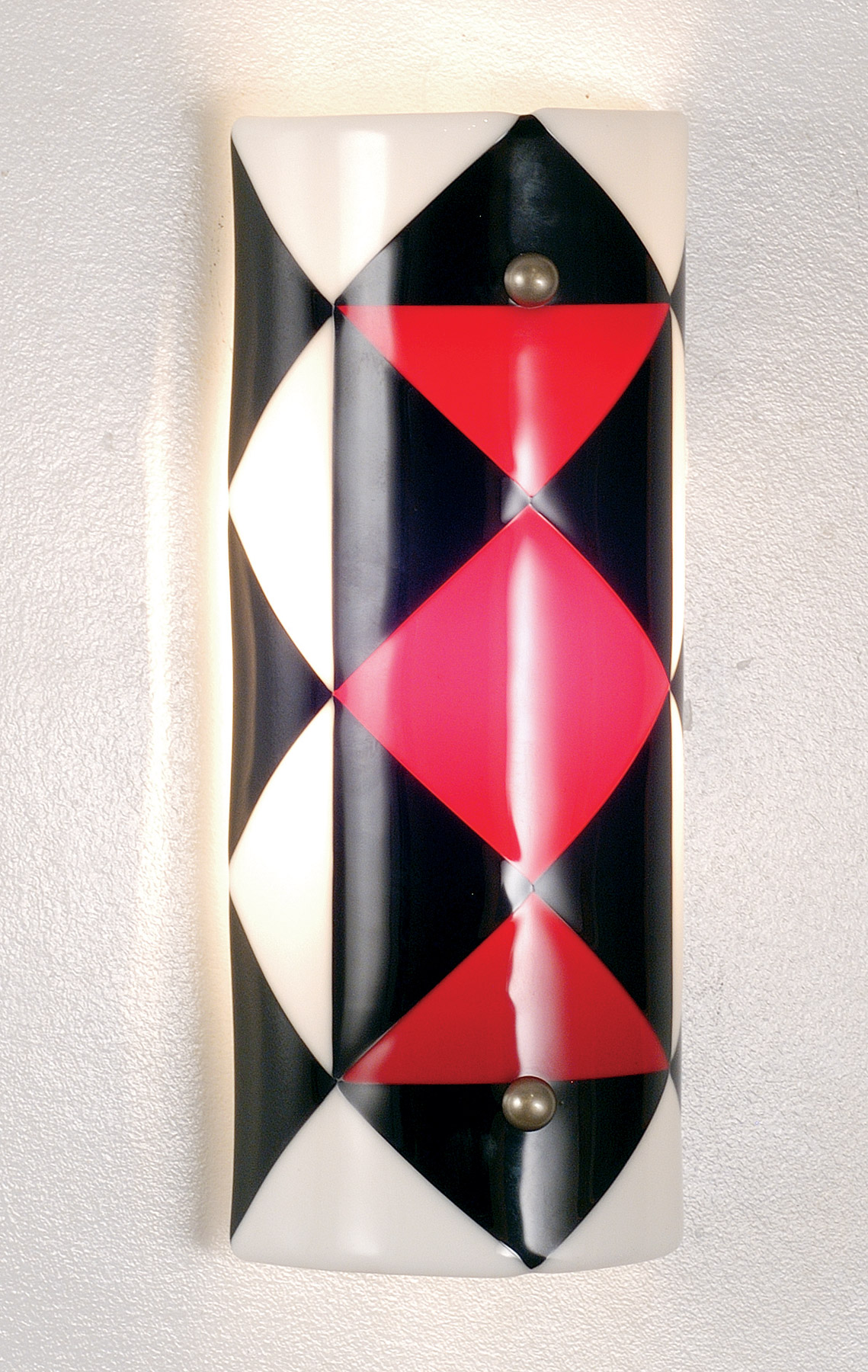Meyda 82560 Jester Fused Glass Wall Sconce