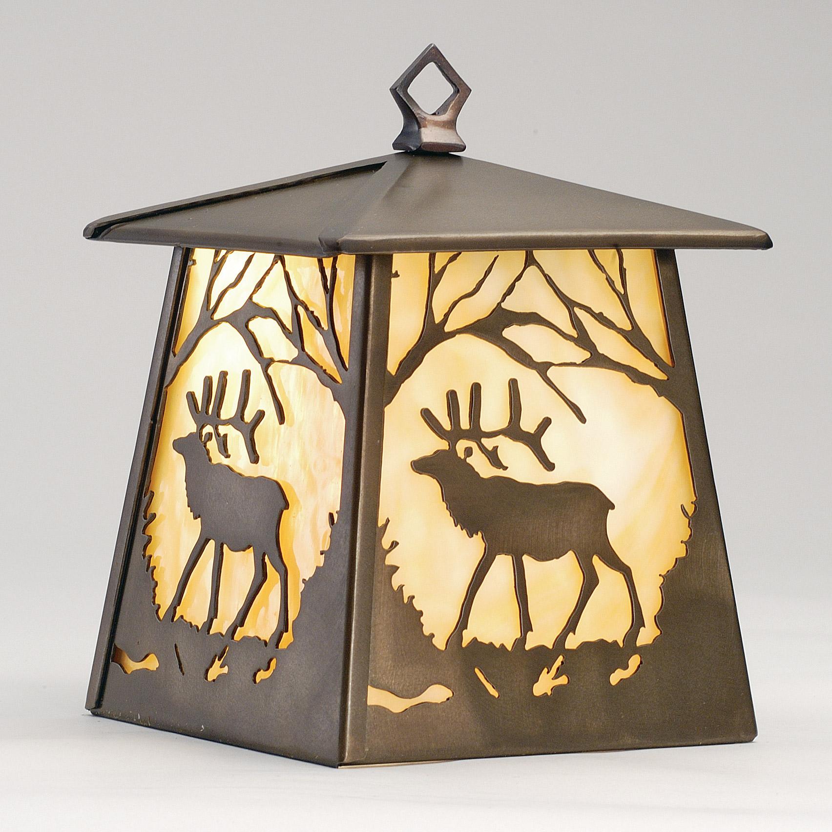 meyda elk lantern hanging lamp