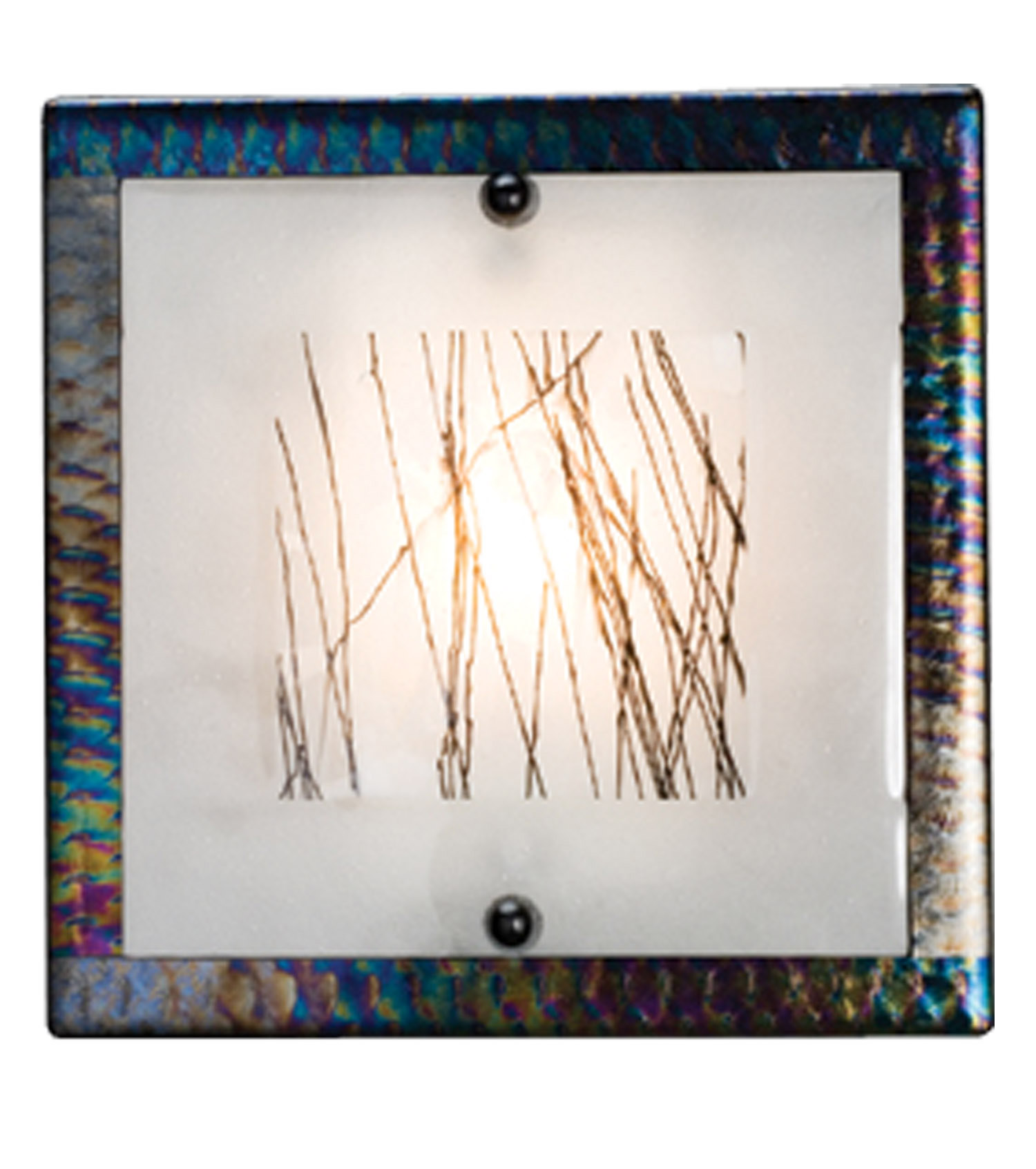 Meyda 99278 fused glass silkwood wall sconce Silkwood glass