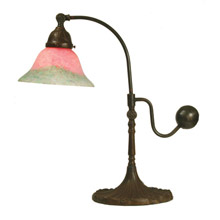 Meyda 102407 Counter Balance Pink And Green Accent Lamp