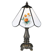 Meyda 107812 Rose Bouquet Mini Lamp