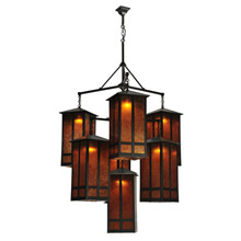 Craftsmanmission chandeliers lamps beautiful meyda 110093 church street seven light chandelier aloadofball Image collections