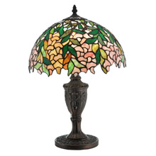 Meyda 110324 Tiffany Laburnum Accent Lamp