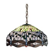 Meyda 111698 Tiffany Hanginghead Dragonfly Pendant