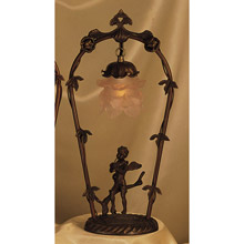 Meyda 11518 Cherub With Violin Accent Lamp