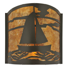 Meyda 117834 Sailboat Wall Sconce