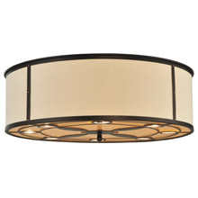 Meyda 118573 Cilindro Valence Flush Mount Ceiling Fixture