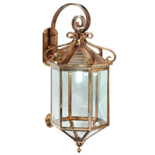 Meyda 122800 Anza Outdoor Wall Lantern