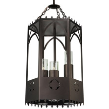 Meyda 123233 Woolf Gothic Lantern