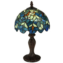 Meyda 124812 Nightfall Wisteria Mini Lamp