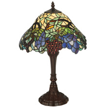 Meyda 125093 Spiral Grape Table Lamp