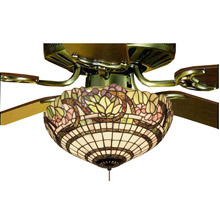 Tiffany Ceiling Fans and Fanlight Kits - Lamps Beautiful