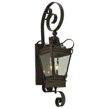 Meyda 129261 Verona Outdoor Wall Lantern