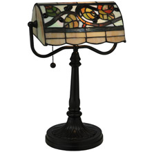 Meyda 130760 Vineyard Banker's Lamp