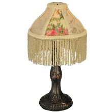 Ordinaire Meyda 131721 Fabric U0026 Fringe Roses Mini Lamp