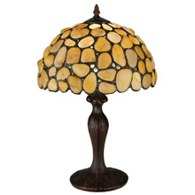 Meyda 138123 Agate Yellow Table Lamp