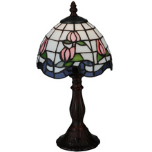 Meyda 139081 Roseborder Mini Lamp