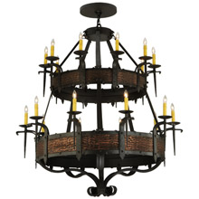 Meyda 139252 Costello Gothic 20 Light Chandelier