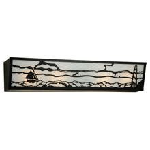 Meyda 139331 Lighthouse with Sailboat Vanity Light