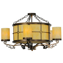 Meyda 139481 Standford Close-To-Ceiling Chandelier