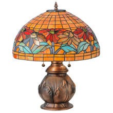 Meyda 139609 Black Eyed Susan Table Lamp