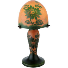 Meyda 13993 Galle Clarissa Lighted Base Table Lamp