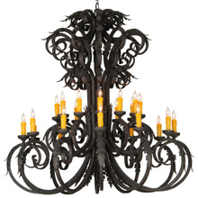 Meyda 141577 Serratina 24 Lights Chandelier