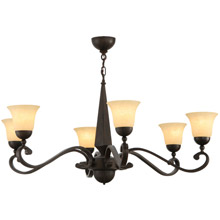 Meyda 141664 Muirfield Six Light Chandelier