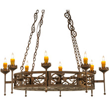 Meyda 141705 Majella Eight Light Chandelier