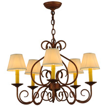 Meyda 142077 Jenna Five Light Chandelier