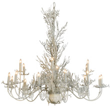 Meyda 142379 Coral Eighteen Light Chandelier
