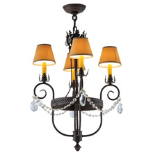 Meyda 142451 Antonia Mini Chandelier