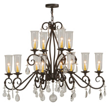 Meyda 142887 Zola Twelve Light Chandelier