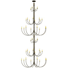 Meyda 143565 Cheal Double Chandelier