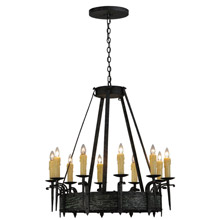 Meyda 144262 Costello Gothic Chandelier