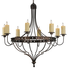 Meyda 144948 Bottini Eight Light Chandelier