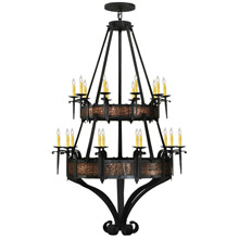 Meyda 145338 Costello Gothic Twenty Light Chandelier