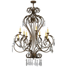 Meyda 145747 Josephine Ten Light Chandelier