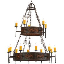 Meyda 145918 Toscano Fifteen Light Chandelier