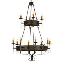 Meyda 145936 Lorenzo Gothic Twelve Light Chandelier