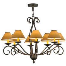Meyda 145951 Sienna Eight Light Chandelier