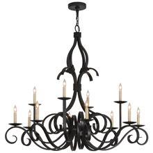 Meyda 146034 Cypress Twelve Light Chandelier