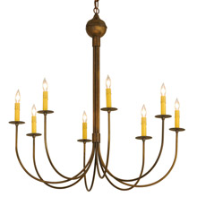 Meyda 146054 Cheal Eight Light Chandelier