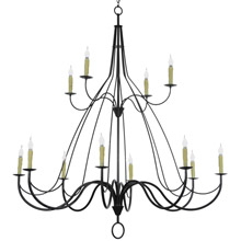 Meyda 146889 Bell LED Chandelier