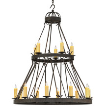Meyda 147174 Lakeshore Gothic Fifteen Light Chandelier