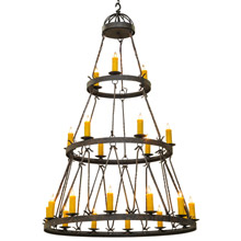 Meyda 147244 Lakeshore Gothic 21 Light Chandelier