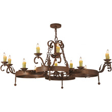 Meyda 148577 Andorra Twelve Light Chandelier