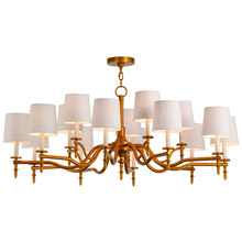 Meyda 149365 Toby Fifteen Light Chandelier